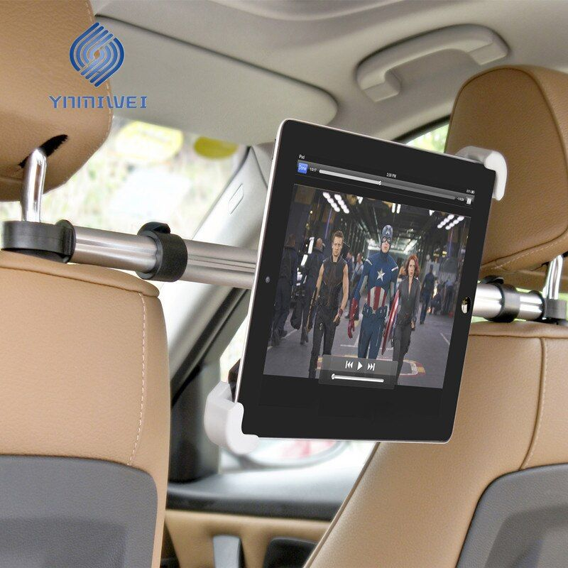 Holder For Tablet PC Auto Car Back Seat Headrest <font><b>Mounting</b></font> Holder Tablet Universal For 7-11 Inch For Ipad Xiaomi Samsung
