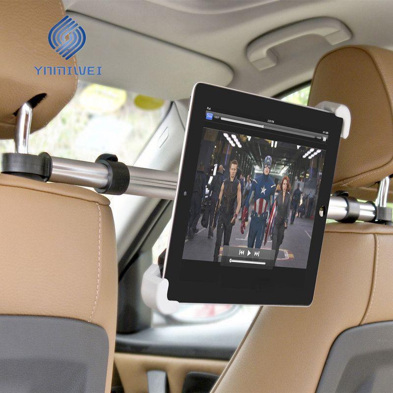 Support pour tablette PC Auto voiture siège arrière appui-tête support de montage tablette universelle pour 7-11 pouces pour Ipad Xiaomi Samsung