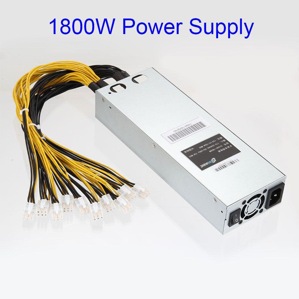 Neue Hohe Qualität 1800 watt Netzteil für Antminer S7 S9 12,5 t/13 t/13,5 t Bergbau maschine QJY99
