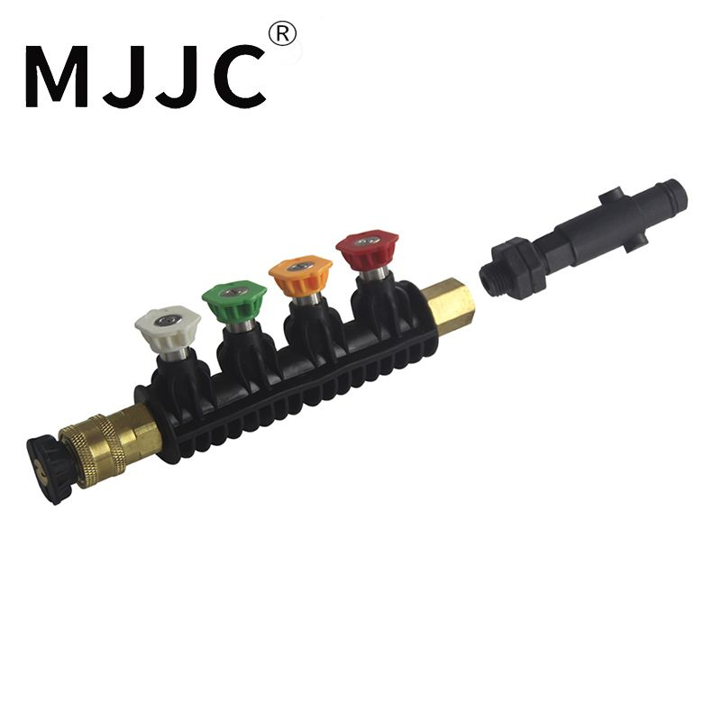 MJJC Brand Water Spray Lance Water Wand Nozzle for Nilfisk rounded fitting / Stihle / Gerni pressure washers
