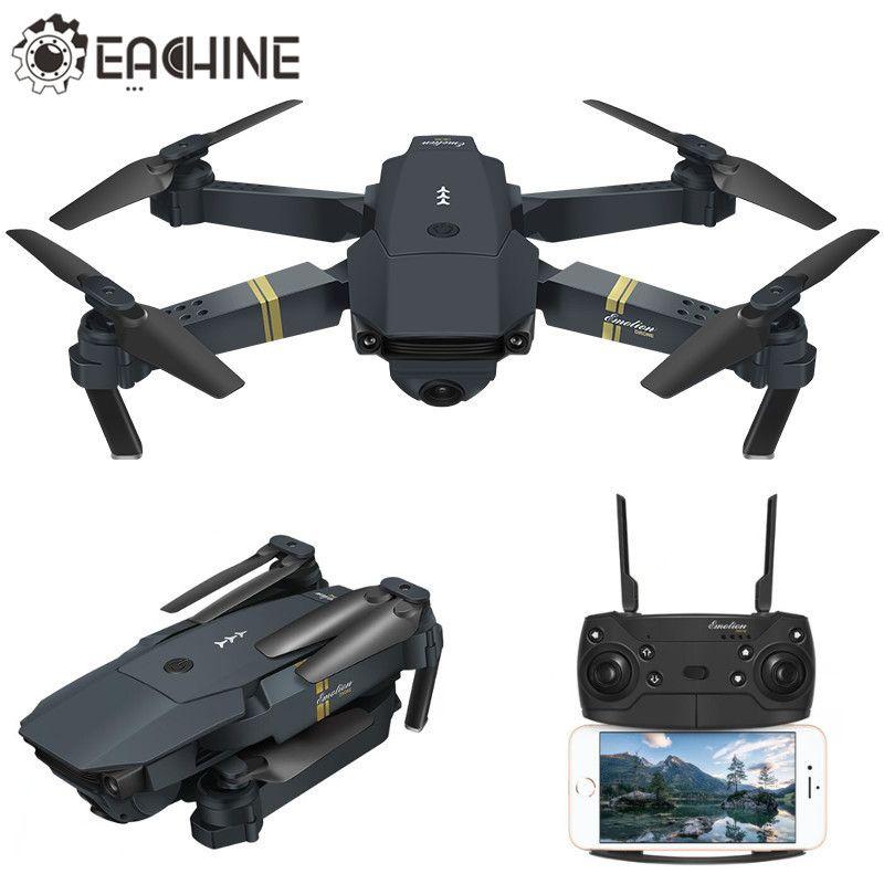 Offre Spéciale Eachine E58 WIFI FPV Avec Grand Angle 2 MP HD Caméra Haute Tenue Mode Pliable Bras RC Quadcopter RTF VS DJI Mavic Pro