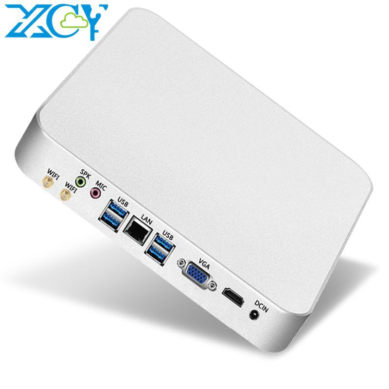 XCY Mini PC computer Intel Core i7 7500U Prozessor DDR4 RAM windows 7/8. 1/10 linux system Gaming PC 4K UHD HTPC HDMI VGA WiFi