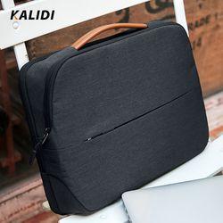 Kalidi Tas Laptop 11 12 13.3 14 15.6 Inch Tahan Air Tas Notebook 15 Inci untuk Macbook Air Pro 11 13 15 Laptop Sleeve Wanita Pria