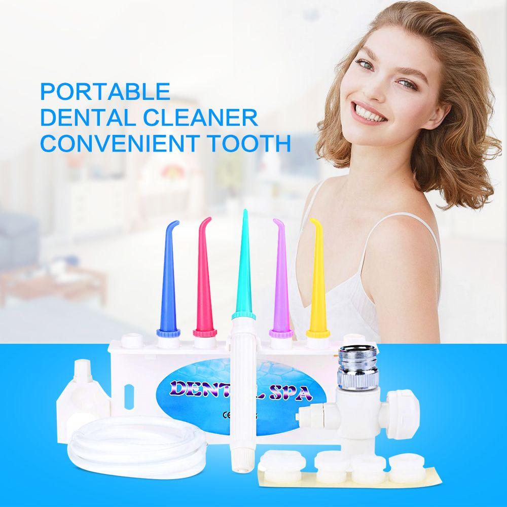 Cuidado de los Dientes Dental portátil Limpiador Conveniente Profesional Hilo de Agua Dental Irrigador Oral SPA Limpiador