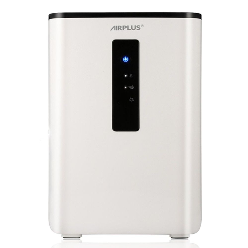 AIRPLUS 65W 110-240V 2.5L Home Air Dehumidifier Semiconductor Desiccant Moisture Absorbing Air Dryer Purify Electric Cooling