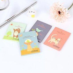 3PCS Tissue Papers Makeup Cleansing Oil  Absorbing Face Paper Korea cute cartoon  nose Tissue Papers Makeup Cleansing Oil paper