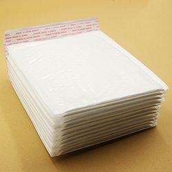 10 PCS 17*18 cm Étanche Blanc Perle Film Bulle Enveloppe Postale Sacs Anti-pression Anti-choc Anti-statique