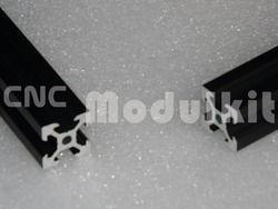 2020V-slot Profil En Aluminium CNC Routeur Noir 2020 V-slot Cadre D'extrusion Livraison Dispositif De Coupe Équipement Construction CNC MODULKIT