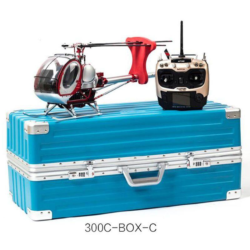 Schweizer 300C Skala Full Metal 9CH RC Hubschrauber Brushless RTF Set 450L DFC Hohe Simulation Elektrische Helicpter Spielzeug