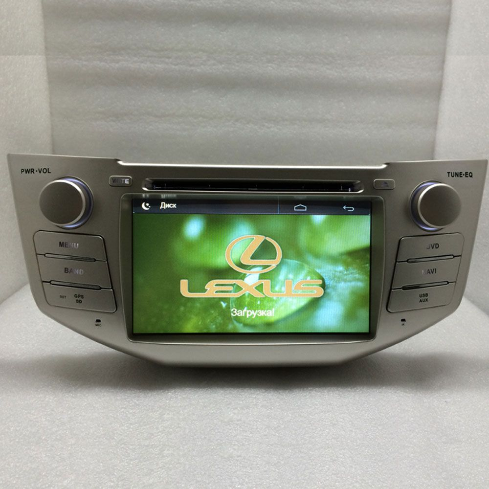 2 Din Car DVD for lexus rx300,rx330,rx350,rx400h toyota Harrier wince6.0system 800Mhz PLAYER BLUETOOTH TV GPS NAVIGATION RADIO