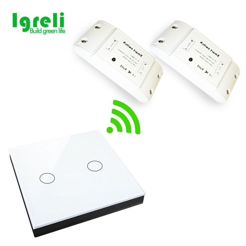 Home wireless single remote control switch 250v receiver module LED ceiling lamp can pass through the wall