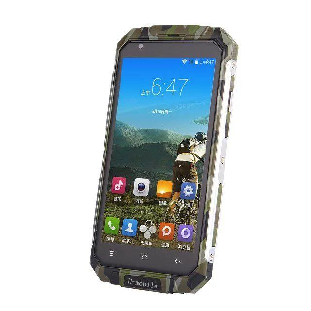 2017 Оригинал H-мобильный V9 Plus Quad Core Android 5.0 512 МБ RAM 8 ГБ ROM 3 Г GPS 5.0 Дюймов Экран Смартфона