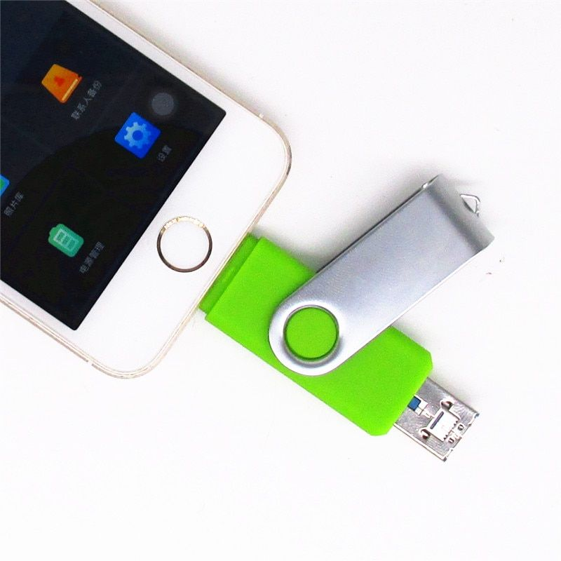 I-easy Drive i-flash iFlash Drive HD 16 GB 32 GB 64 GB Flash Drive mémoire de stockage pour iPhone 7 7 Plus 6 5 5 S Lightning to Plastic