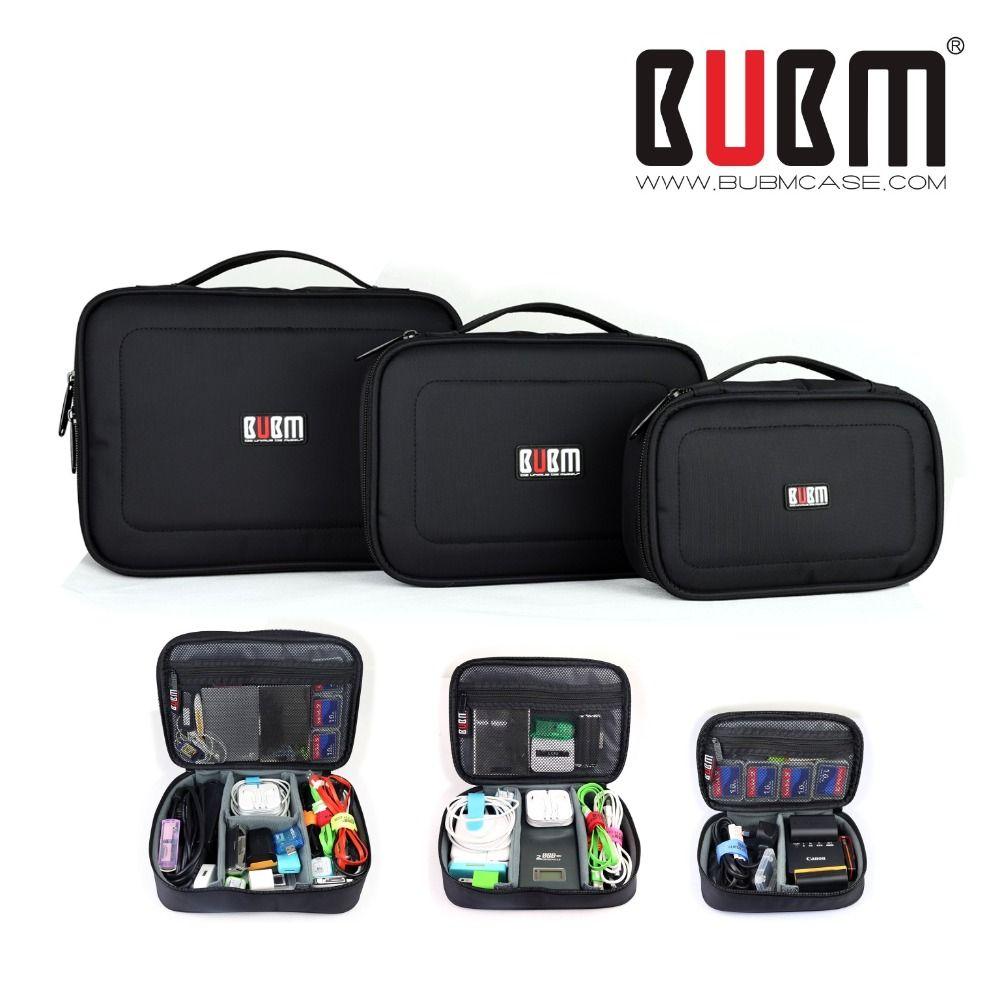 Bubm étanche Protéger cas pour GOPRO XIAOMI YI SJ caméra mobile disque dur bloc d'alimentation câble de données S M L