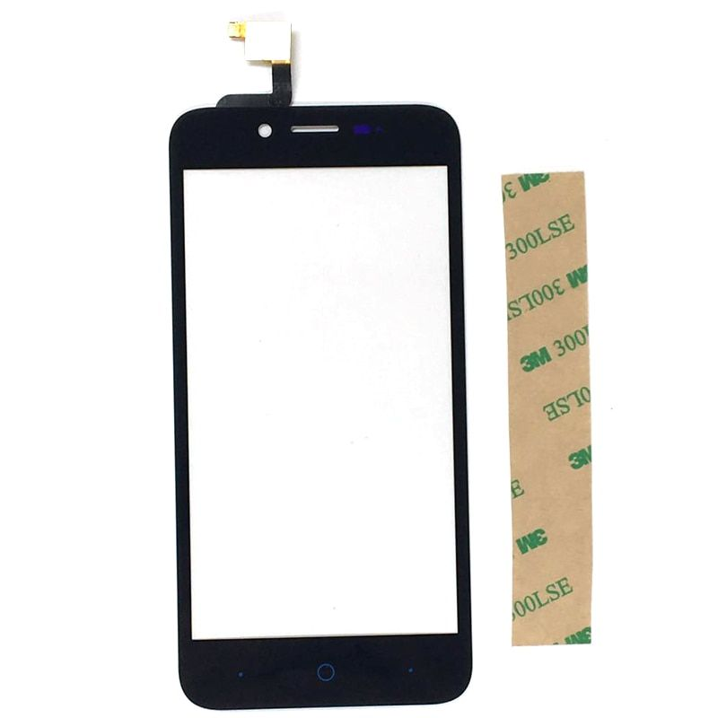 For ZTE Blade L4 A460 Touchscreen Sensor With Tape 5.0 inch Touch Screen Digitizer For ZTE Blade L4 Touch Panel Glass