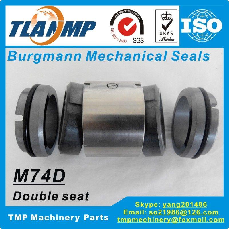 M74D-80 M74D/80-G9 Burgmann Mechanical Seals (Material: SiC/SiC/Viton) |M74-D Dual Seal (Double Face) Unlalance type for Pumps