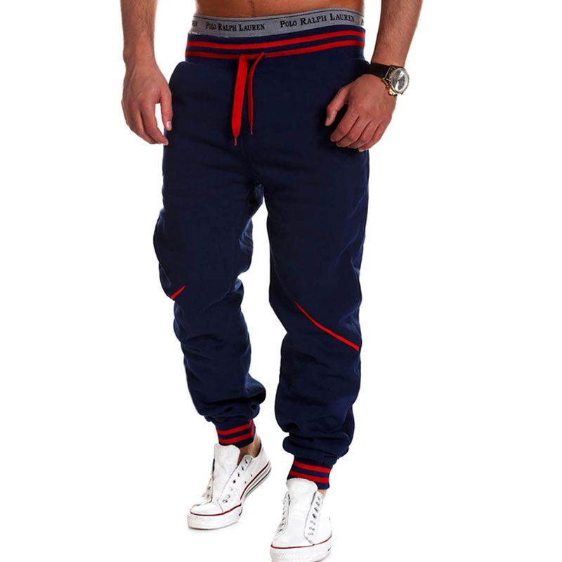 Marque hommes pantalons Hip Hop Harem Joggers pantalons 2018 hommes pantalons hommes Joggers pantalons solides pantalons de survêtement