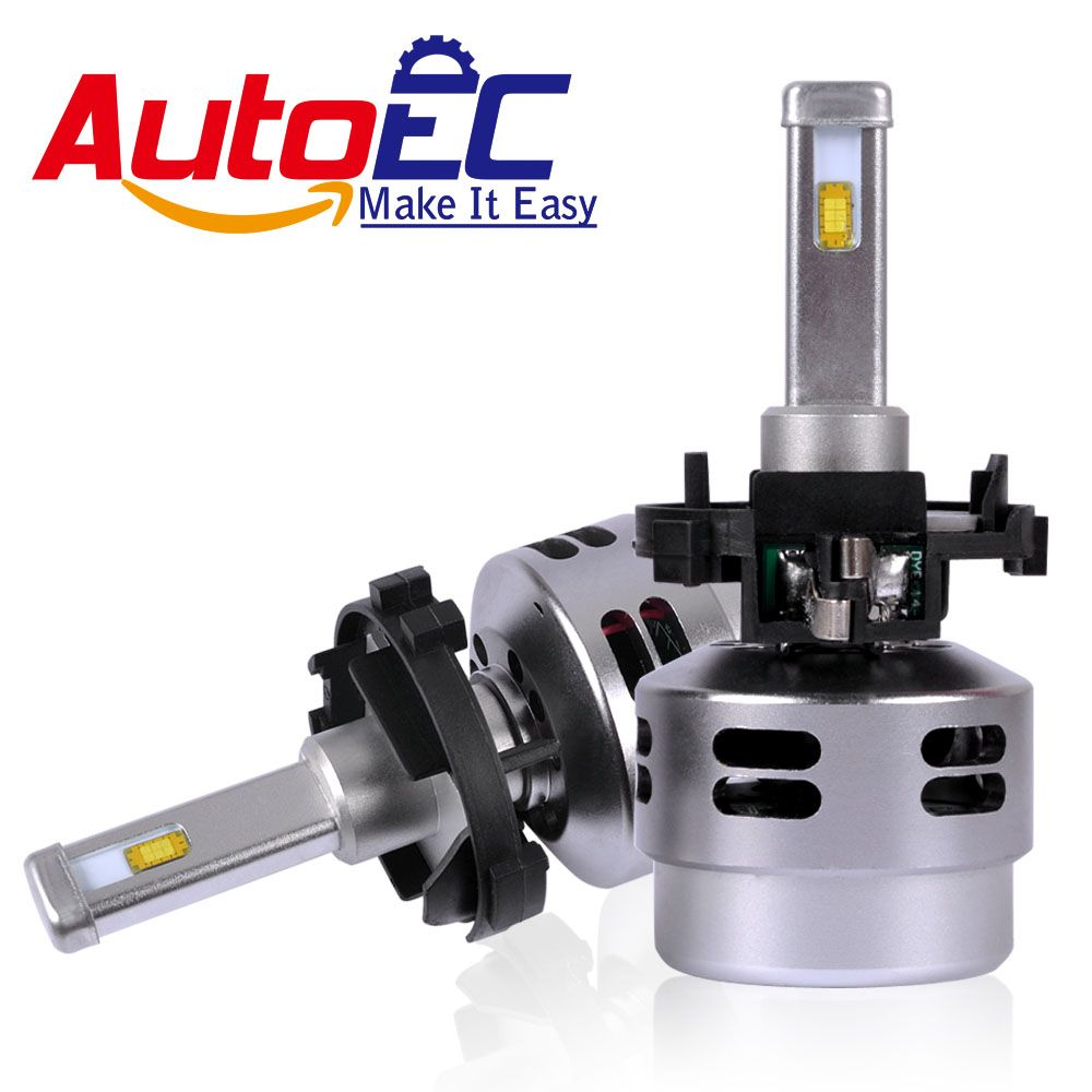 AutoEC Car H7 LED Headlight Kit H7LL 80w 4500lm high power LED Hi/Lo Beam Head light Bulb FOR Volkswagen Golf 7 #LN65