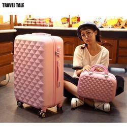 TRAVEL TALE 20,24, 28 pulgadas, ABS Spinner Hardside equipaje, bolsa de viaje conjunto maleta equipaje conjunto bolsa