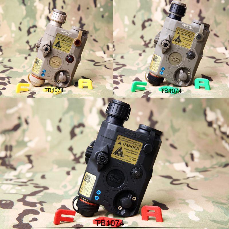 Freies Verschiffen FMA PEQ LA5-C Upgrade-Version LED Weißes licht + Roten laser mit IR Linsen BK BK/DE/FG