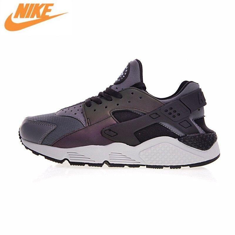Nike Air Huarache Männer Laufschuhe, Original Neue Ankunft Männer Outdoor-Sport Turnschuhe Trainer Schuhe, Schwarz 704830-007