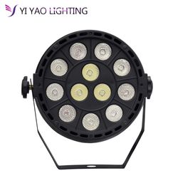 Led Par Can Light DMX Lighting Stage Spotlight, DMX512 DJ Effect Light for KTV Bar Party