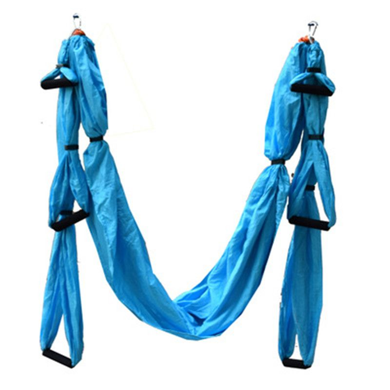 Anti-Gravity yoga hammock fabric Yoga Flying Swing  Aerial Traction Device Yoga hammock set Equipment for Pilates body shaping