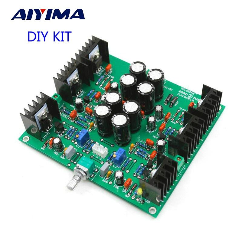Aiyima JLH HOOD 1969 Class A Headphone Amplifier Small Power Amplifier Pre-amp DIY KITS