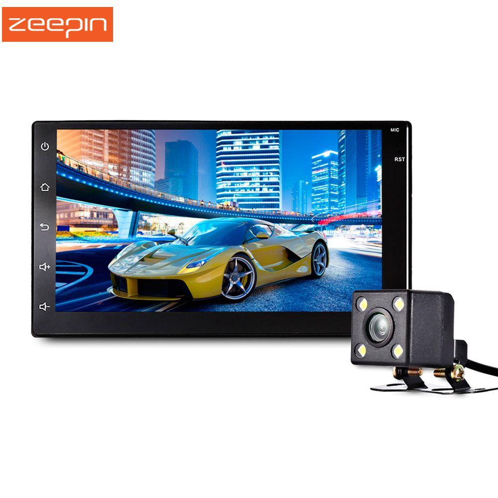 Zeepin 7003 Android 6.0 Car Radio+GPS Navigation 7 Inch Touch Screen Bluetooth Car Multimedia Player Car DVD Player FM USB
