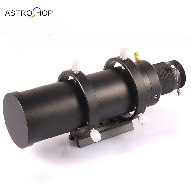 Compact 60mm Guide scope finderscope with metal screw MicroFocuser guiding telescope