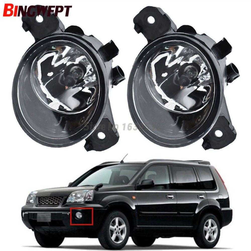 Auto Styling Front LED Nebel Lampen Halogen Nebel Lichter 26150-89905 Für Nissan X-Trail T30 2001- 2006 (links + rechts) /2 stücke