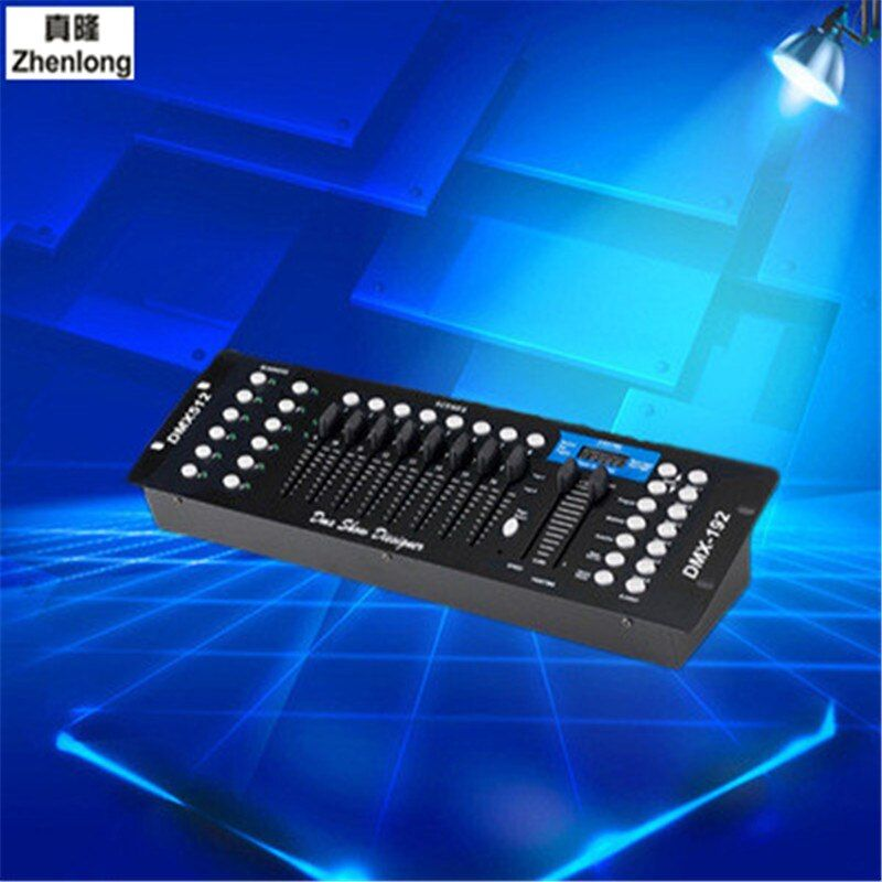 Light DMX 512 Rgb LED 192 Light Control Booth Dmx Decoder Dimmer Driver Moving Head Lamp Control Stage Equipment Remote Pilot