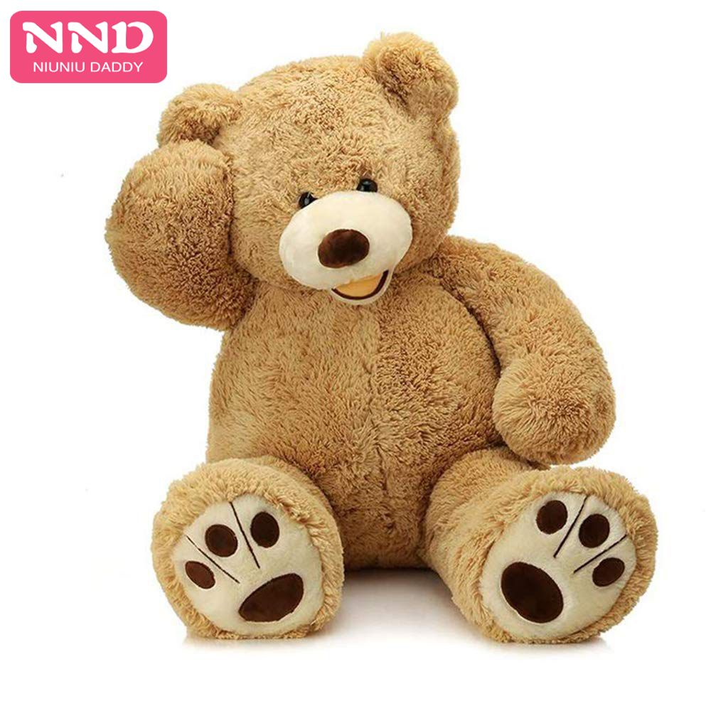 Niuniu papa 80 cm à 260 cm géant ours en peluche peau ours américain peluche ours USA peluche peau d'ours peaux non rembourrées