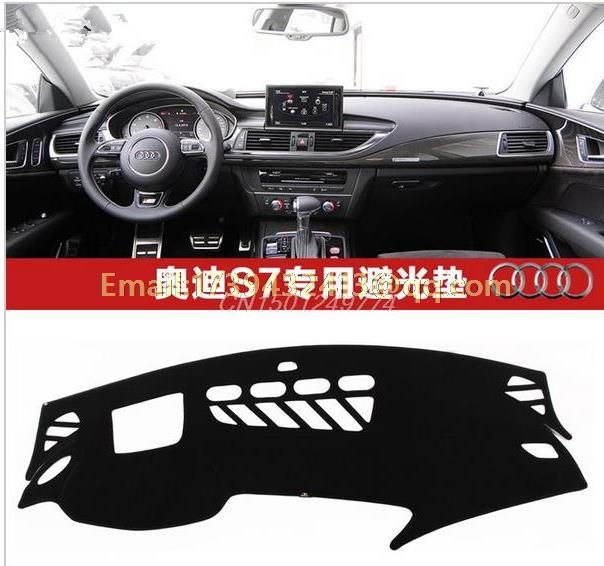 dashmats car-styling accessories dashboard cover  for audi A7 S7 2011 2012 2013 2014 2015 2016