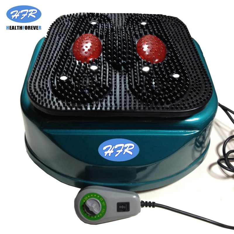 HealthForever Marke Fernbedienung Vibrierende Gerät Beine Volle Körper Elektrische Fuß Durchblutung Massage Maschine