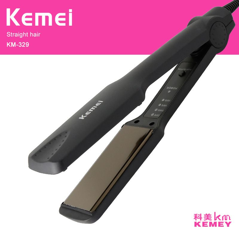 HQ fer à lisser professionnel Tourmaline céramique plaque chauffante outil de coiffure droite échauffement rapide Performance thermique