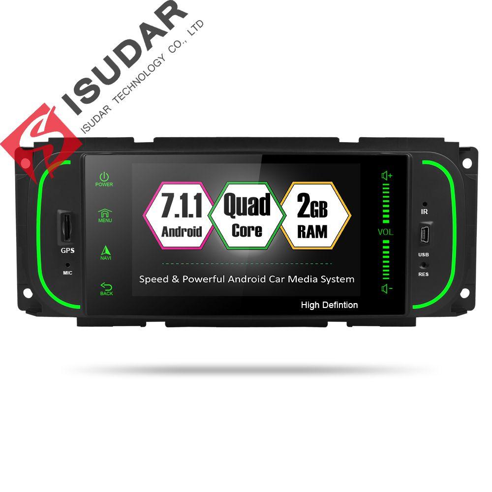 Isudar Auto Multimedia player 1din android 7.1.1 5 zoll Für Jeep/Chrysler/Dodge/Liberty/Wrangler/Sebring /Grand Cherokee Radio GPS