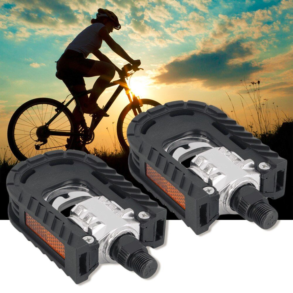 Universal Aluminium Alloy Mountain Fahrrad Folding Pedale rutschfeste kostenloser versand