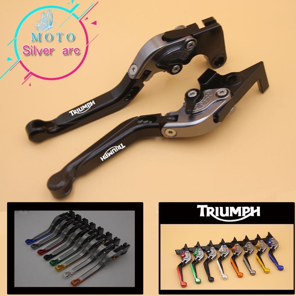 For Triumph DAYTONA 675R 675 R 2011-2016 Motorcycle Accessories Folding Extendable Brake Clutch Levers
