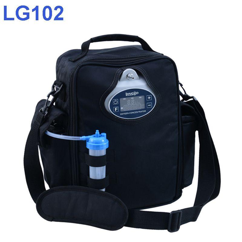 4 stunden Batterie Zeit Neueste Mini Lovego Tragbaren Sauerstoff Konzentrator LG102P
