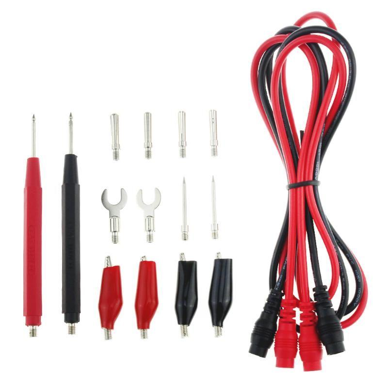 16 teile/satz Digital Multimeter Sonde Test Blei Kabel Alligator Clip Werkzeug Multifunktions Meter Tester Blei Sonde Draht Werkzeug
