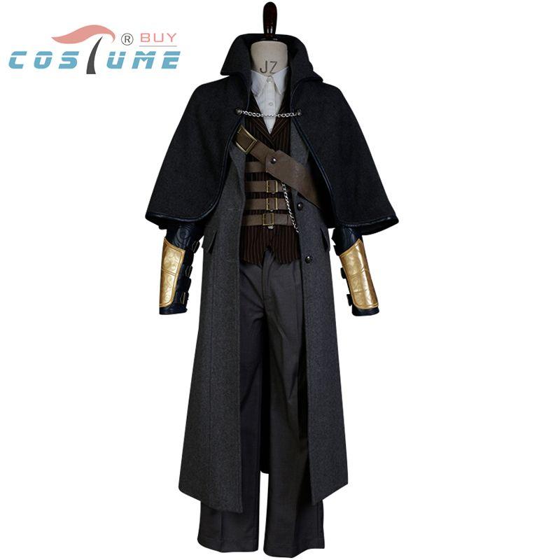 Übertragene Cosplay Kostüm Die Hunter Cosplay Kostüm Full Set Halloween für Erwachsene männer Nach Maß