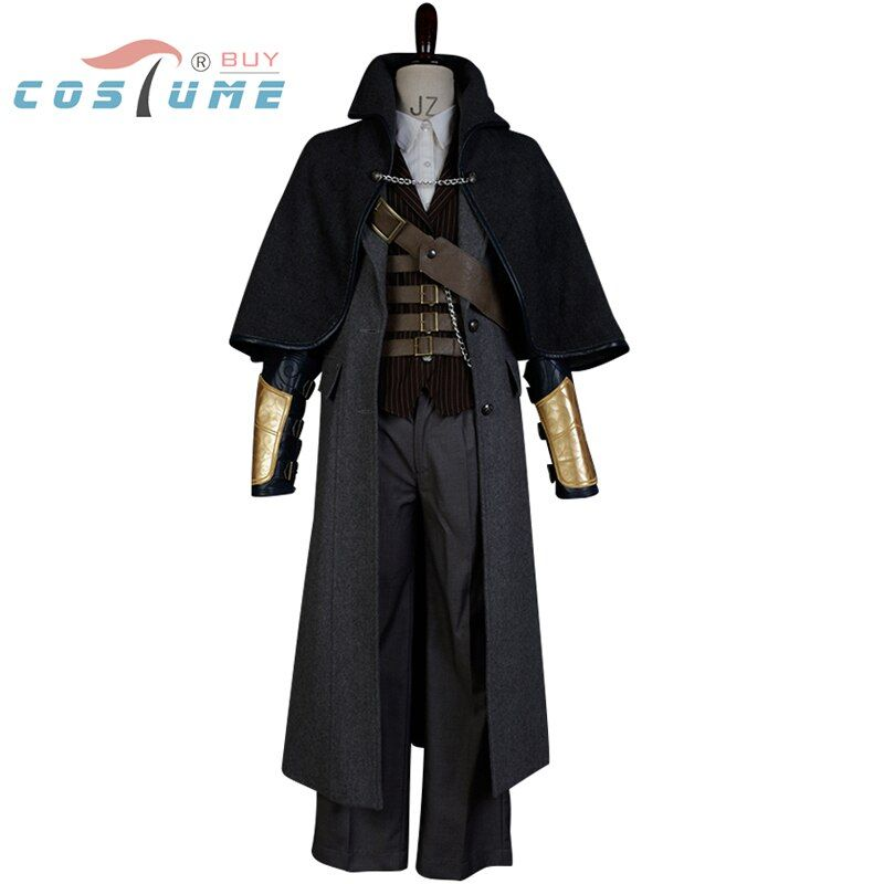 Bloodborne Cosplay Costume The Hunter Cosplay Costume Full Set Halloween for Adult men Custom Made