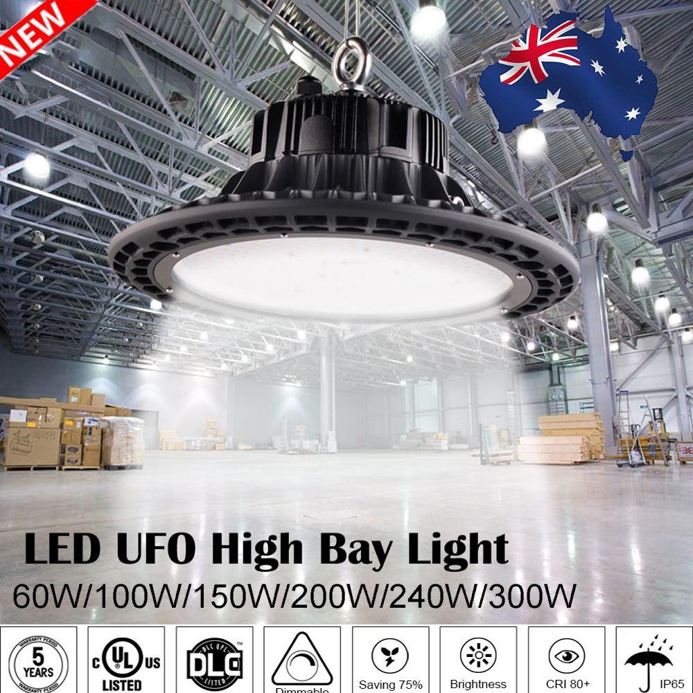UFO Led High Bay Lichter 100 W 150 W 200 W Wasserdichte IP65 Industrielle Beleuchtung Lager Garage Werkstatt highbay led