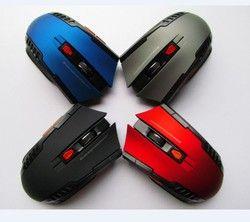 Hot mini 2.4 GHz Wireless Optical mouse para PC Gamer Portátiles para juegos nuevo juego inalámbrico Ratones con receptor USB envío de la gota ratón