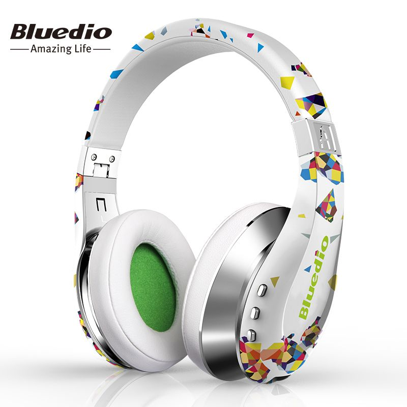 Bluedio Air foldable bluetooth headphones BT4.1 Stereo wireless headsets for cell phone Fashion Gift with 3D sound surround