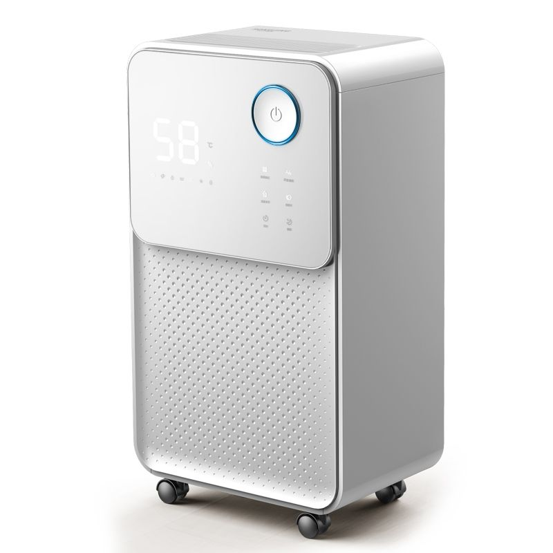 24L/D Dehumidifier Household Bedroom Basement Silent High Power Machine Touch Screen Dryer Air Purifier Constant Humidity