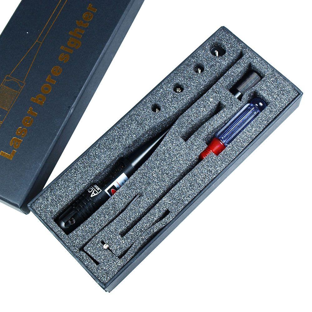 Caza Riflescope Punto Rojo Laser Bore kit Sight for 22 50 Calibre Rifles Arma de Caza Caza Miras Chasse párr mosquetones
