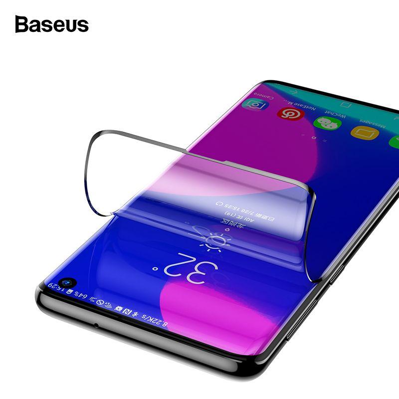 Baseus 2 pièces protecteur d'écran en verre trempé pour Samsung Galaxy S10 Plus Film de verre de protection avant pour Samsung S10 S 10 S10plus