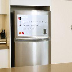 YIBAI tablero magnético A4 pizarra magnética suave niños, seco borrar dibujo y tablero de grabación para refrigerador regalo